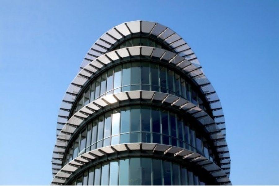 Bürogebäude Bremen, Sonnenschutzroste